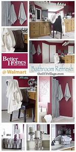 Bathroom, Refresh, With, Better, Homes, And, Gardens