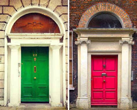 Colourful Door by A Colorful Look The Doors Of Dublin Huffpost