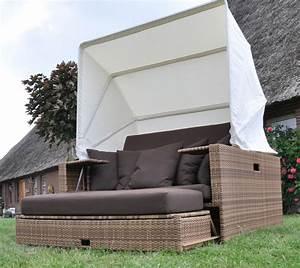 Polyrattan Lounge Sale : beach lounge garten polyrattan liege sonneninsel liegeinsel domus ventures mix ~ Whattoseeinmadrid.com Haus und Dekorationen