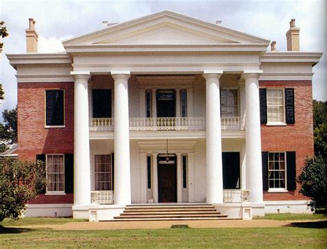 C. 1845 Greek Revival In Natchez, Mississippi
