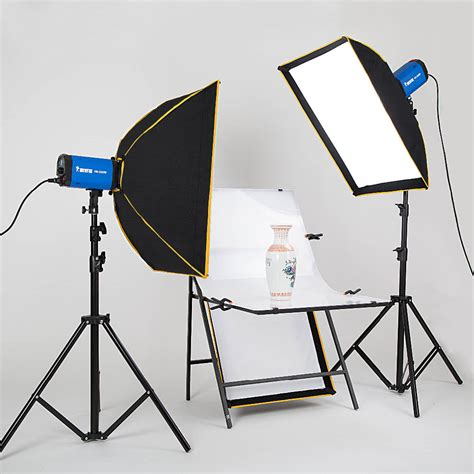 photography lighting equipment photography lighting kit 2pcs softbox 2pcs tripod 2pcs