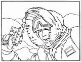 Coloring Hoth Hobbit Wars Star Coloriages Films Coloriage Album Sideshow Drawing Echo Han Solo Base sketch template