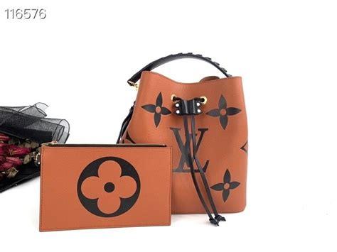 louis vuitton crafty neonoe bag cm oversized monogram cowhide leather canvas springsummer