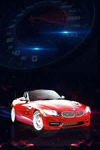 Red Sports Car Background, Red, S, Car Background Image ...
