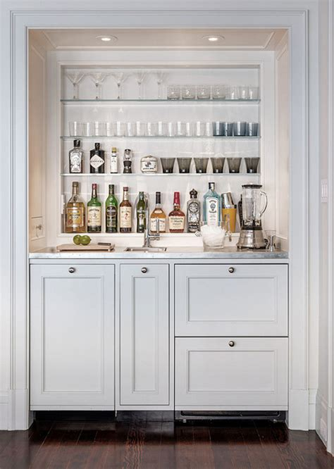 Bar Built In by 25 Creative Built In Bars And Bar Carts
