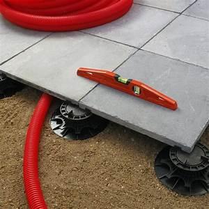 Dalles Sur Plots Pour Terrasse : plot pour dalle nivo h25 40mm plot pour dalles deck linea ~ Premium-room.com Idées de Décoration