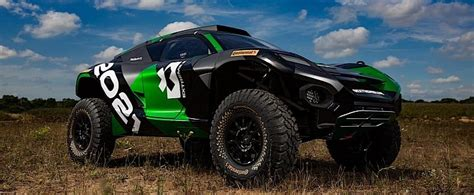 extreme  electric suv  road racing series