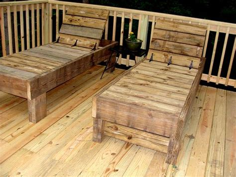 simple modern outdoor double lounger pool furniture diy