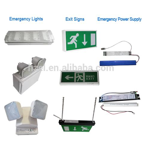3h standby emergency exit light with 3w led bulbs sl015am