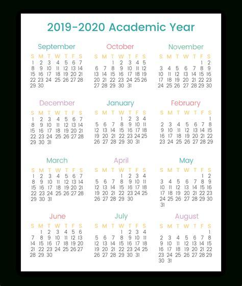 year   glance calendar  printing