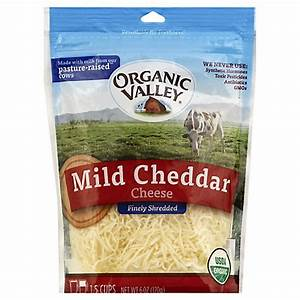 Target: Organic Valley Shredded Cheese Only $1.07
