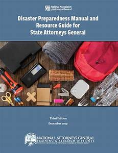 Disaster Preparedness Manual And Resource Guide For State