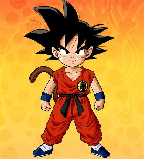 Dragon Ball Kid Goku  Dbz Pinterest