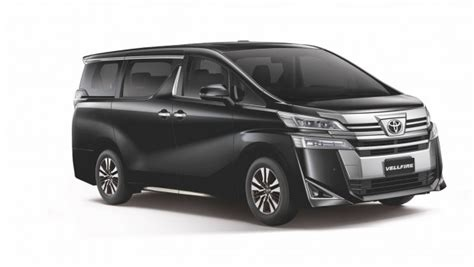 Toyota Alphard Backgrounds by Alphard And Vellfire Updated For 2018 In Umw Toyota