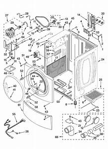 33 Kenmore Dryer Model 110 Parts Diagram