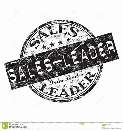 Sales Leader Stamp Rubber