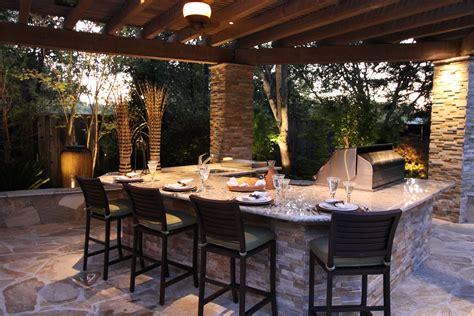 lighting for outdoor kitchen custom outdoor kitchen michael glassman associates 7042