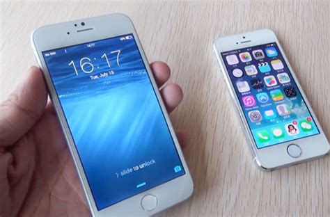 iphone 6 clone review of the iphone clone 6 vs the iphone 5s