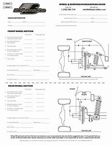 Billet Specialties Measuring Guide