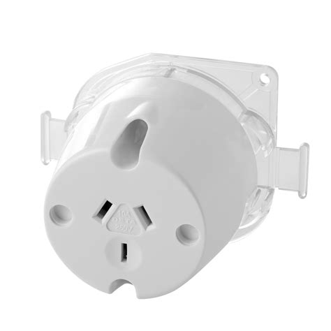 ls with electrical outlets in base deta 10 amp single outlet trade plug base 10 pack bunnings warehouse