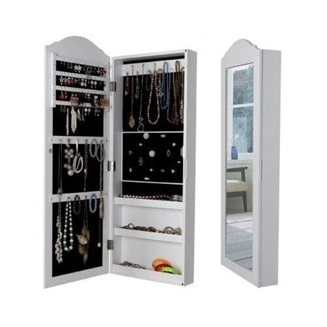 large mirror cabinet wall mounted jewelry storage box room