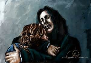 Harry Potter Snape and Lily Fan Art