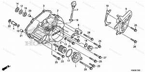 Honda Motorcycle 2017 Oem Parts Diagram For Left Crankcase