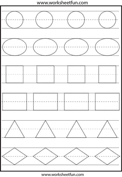 6 Best Images Of Preschool Printables Shapes  Free Printable Preschool Worksheets Shapes
