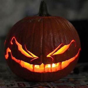 Comment Faire Une Citrouille Pour Halloween : modele citrouille halloween facile ~ Voncanada.com Idées de Décoration
