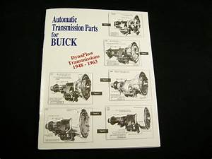 Buick Dynaflow Parts List Identification Guide Oem