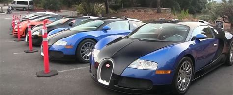 Eight Bugatti Veyrons and Two LaFerraris Lead Monterey Car ...