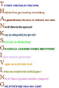 thanksgiving acrostic poems