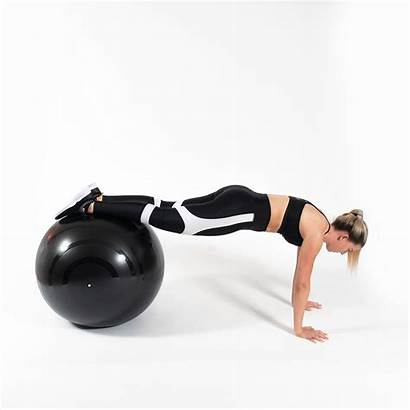 Pike Ball Plank Lift Leg Single Yoga