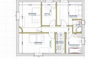 plan de maison 3d 100m2 deux etages With plan maison deux etages