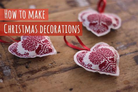fabric christmas decorations youtube