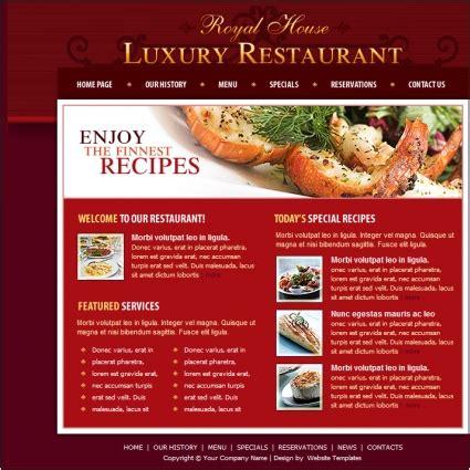 luxury restaurant template  website templates  css