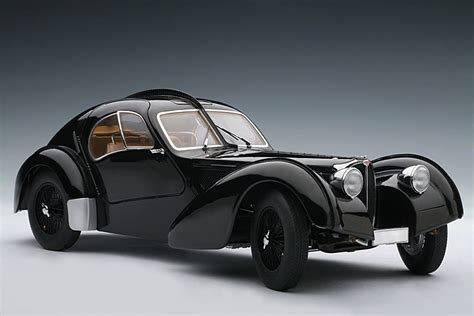 AUTOart: 1938 Bugatti 57SC Atlantic - Black w/ Disc Wheels ...