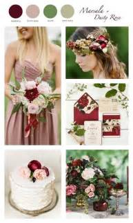 colors for weddings marsala wine wedding palette color combo marsala dusty olive soft gold