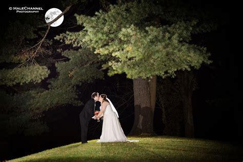 halloween wedding  moon holiday fall night shots