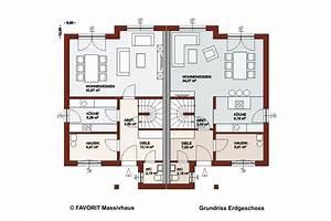 Haus Mit Einliegerwohnung Grundriss : haus finesse 124 hausbau24 ~ Lizthompson.info Haus und Dekorationen