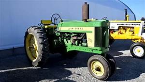 First John Deere 620 Tractor Built Sells At Auction 2015