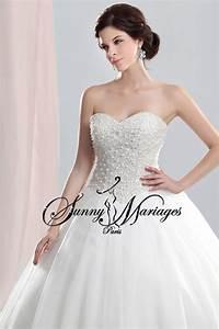 robe de mariee princesse bustier perle sur mesures With robe de mariée prix avec bijoux perle de culture