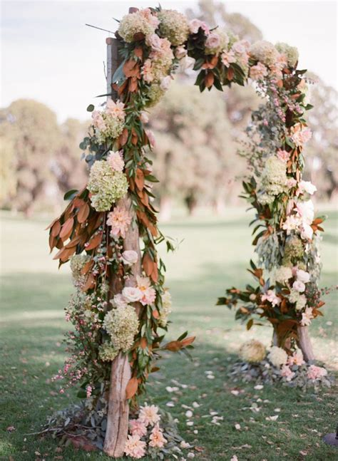 36 Fall Wedding Arch Ideas For Rustic Wedding Deer Pearl