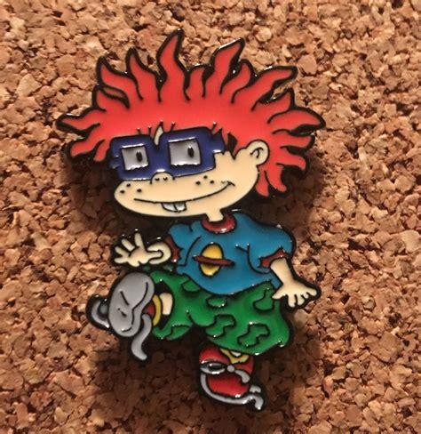 Chuckie Rugrats Hat Pin   Hat pins, Rugrats, Festival hat