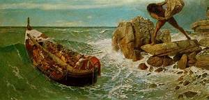Odysseus and Polyphemus by Arnold Böcklin (1827-1902 ...