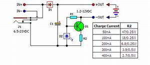 Low Cost Universal Battery Charger Schematic