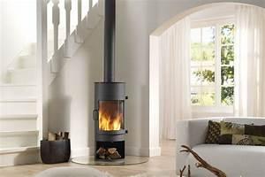 Poele A Granules Design Contemporain : surprenant poele design contemporain 1 phenomenal ~ Premium-room.com Idées de Décoration