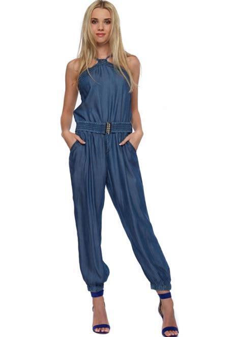 designer jumpsuits denim blue jumpsuit buy jumpsuits designer desirables