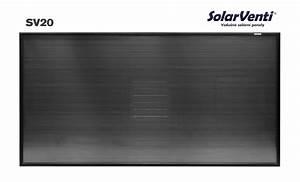 Teplovzdušný solární panel ceník