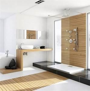 Holz Dekoration Modern : 42 ideen f r kleine b der und badezimmer bilder avec bad modern holz et ideen fuer kleine baeder ~ Sanjose-hotels-ca.com Haus und Dekorationen